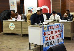 Genç Sada Kur'an-ı Kerim'i Güzel Okuma Yarışması