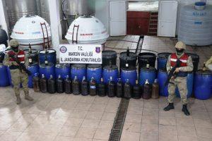 117 bin 800 litre kaçak içki ele geçirildi