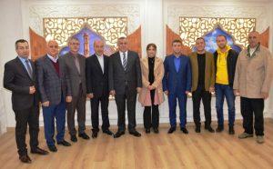 Midyat Kent Konseyi Midyat Belediyesini ziyaret etti