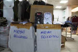 Sosyal markete  İstanbul'dan yardım