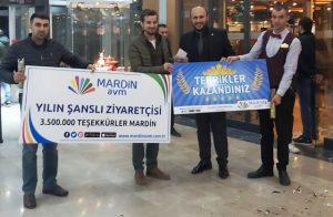 Mardin AVM'den sürpriz ödül