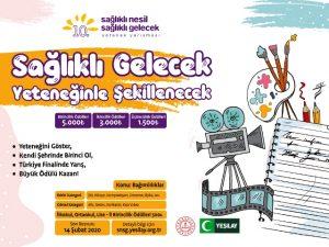 YEŞİLAY'dan sağlıklı gelecek yarışması