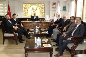 AK Parti'li vekillerden Başkan Şahin'e ziyaret