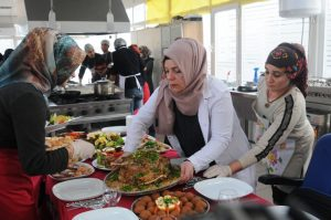 Mezun olan aşçılardan görsel şölen