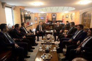 Kamu Başdenetçisi Malkoç'tan terörle mücadele vurgusu
