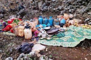 PKK'ya ait sığınaklarda patlayıcı ve çeşitli malzemeler ele geçirildi