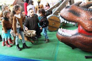 Çocuklar Viking  Köyünde Eğlendi