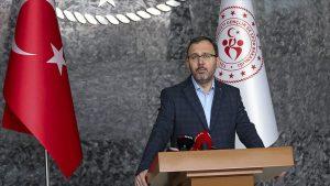 Bakan Kasapoğlu: Koronavirüs nedeniyle ligler ertelendi