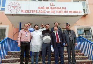 Belediyeden hastanelere  malzeme desteği