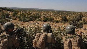 Jandarma ekiplerinin ikna ettiği PKK'lı terörist teslim oldu