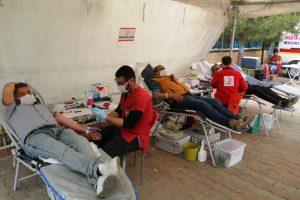 Midyat'ta kan bağışına destek