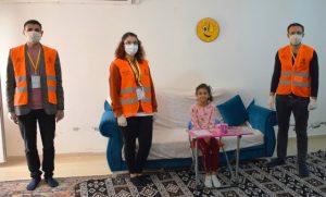 Milli Dayanışma Kampanyası'na 7 yaşındaki Tekin'den destek