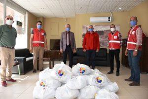 Nusaybin Ticaret Borsasından 1150 aileye gıda yardımı