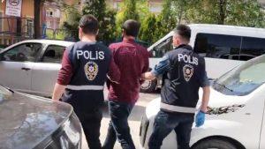 Parmak izinden tespit  edilen hırsız tutuklandı
