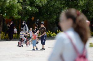 14 yaş altı çocuklar uzun zaman sonra ilk kez sokağa çıktı