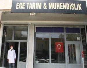 Ömerli'de Ege  Tarım açıldı