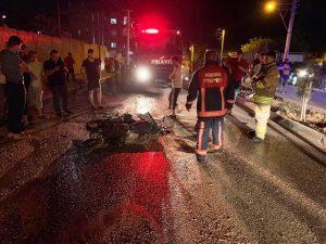 Nusaybin'de iki motosiklet çarpıştı: 2 yaralı