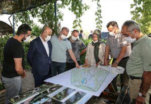 Vali Mahmut Demirtaş, Kızıltepe'de incelemede bulundu