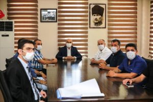 Vali Demirtaş, OSB'yi ziyaret etti