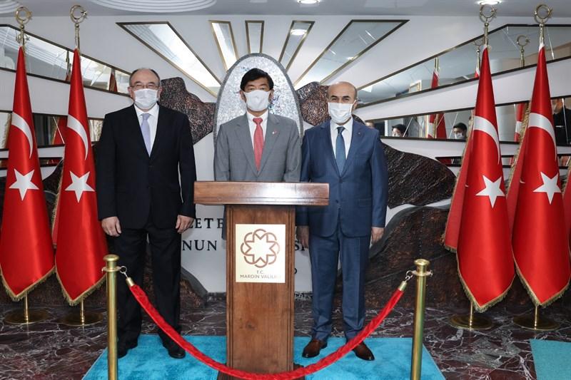 Japonya Büyükelçisinden Vali Demirtaş'a Ziyaret