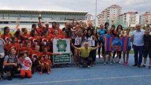 Mardin Atletizm'de Süper Lig'e yükseldi