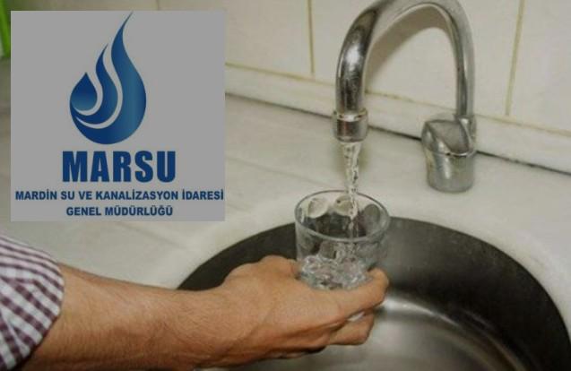 MARSU, Vatandaşların Su Borcunu Yapılandırıyor