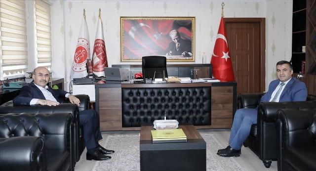 Vali Demirtaş, Cumhuriyet Başsavcısı Turhan'ı ziyaret etti