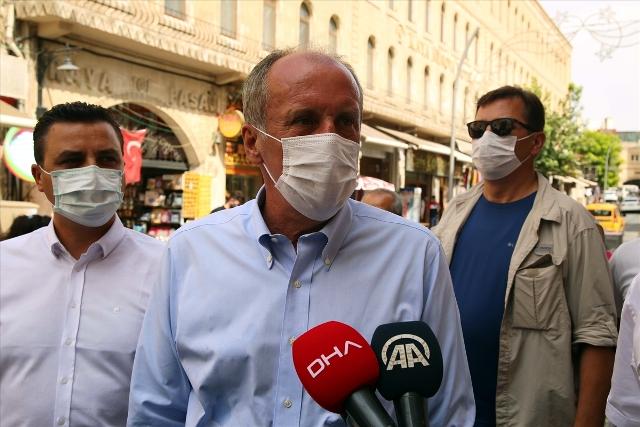 Eski CHP Milletvekili Muharrem İnce'den Mardin'e ziyaret