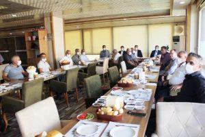 Ak Parti Artuklu'nun sorunları muhtarlarla masaya yatırdı
