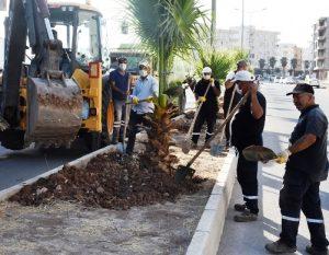 Nusaybin'e refüj düzenleme çalışması