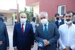 İçişleri Bakan Yardımcısı Mehmet Ersoy şehit ailesini ziyaret etti