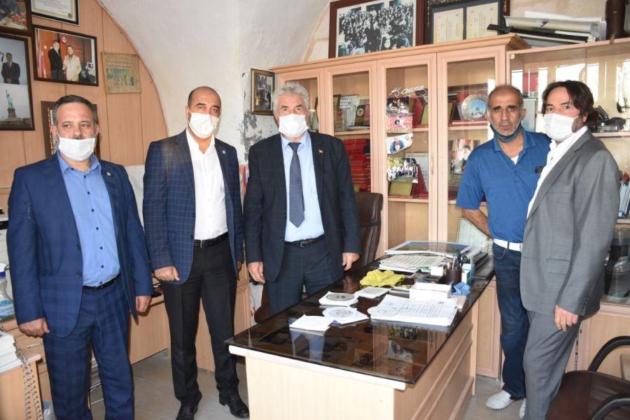Adnan Avuka'ya tebrik ziyaretleri
