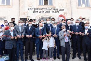 Terör saldırısında şehit olan Şivan Çetin'in adını yaşatacak caminin açılışı yapıldı