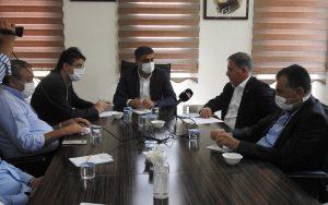 CHP heyeti Mardin'de sanayinin nabzını yokladı