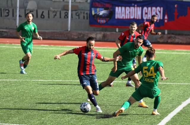Mardin Fosfat spor ve Darıca Gençler birliği berabere kaldı