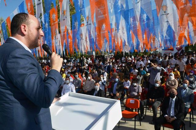 Ak Parti Mardin Gençlik Kongrelerinde Büyük Coşku