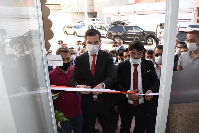 Nusaybin'de 15 Temmuz Federasyonu temsilciliği açıldı