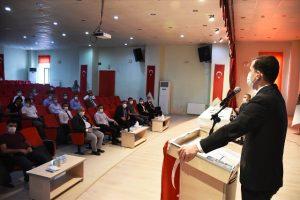 """Nusaybin'de """"Halk ve Güvenlik Toplantısı"""" yapıldı"""
