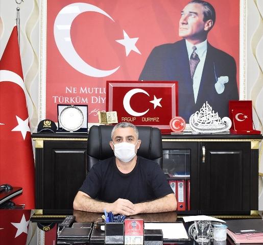 Nusaybin Emniyet Müdürü Ragup Durmaz, görevine başladı