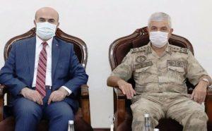 Orgeneral Çetin'den Vali Demirtaş'a ziyaret