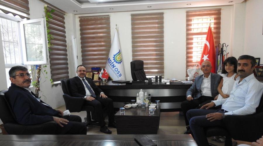 Elazığ Valisi Yırık,Mardin OSB'yi Ziyaret Etti