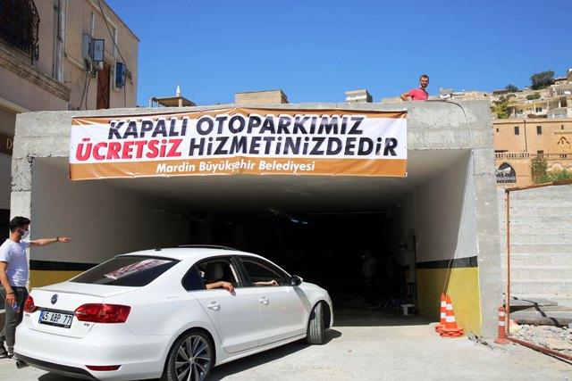 Cumhuriyet Meydanı Otopark Projesi faaliyette
