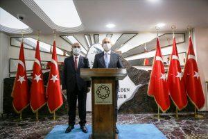 Ulaştırma ve Altyapı Bakanı Karaismailoğlu, Mardin Valiliğini ziyaret etti