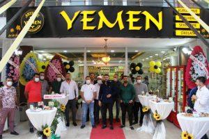 Yemen Kahve 2'nci şubesi hizmete girdi