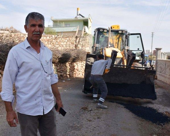 Dargeçit Kırsal Mahallelerde Asfalt Yama Çalışması