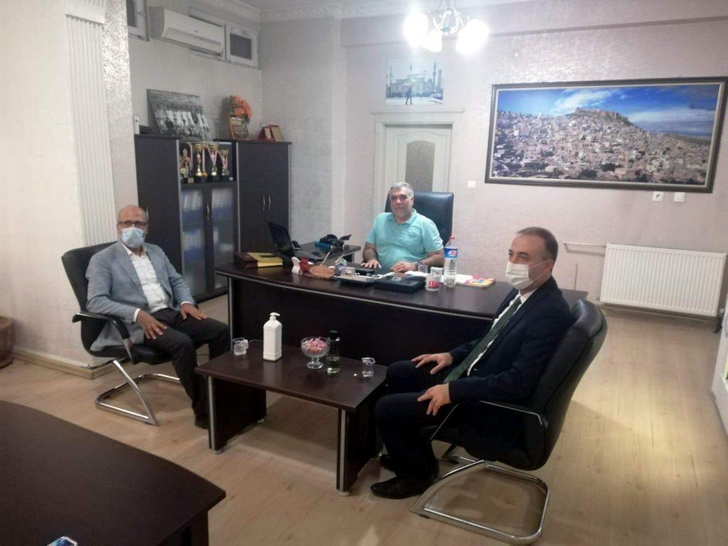 Memur-Sen ve Bayındır Memursen'den gazetemize ziyaret