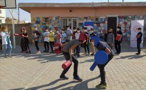 Nusaybin Gençlik Merkezi, kırsal mahallelerde gençlerle buluşuyor