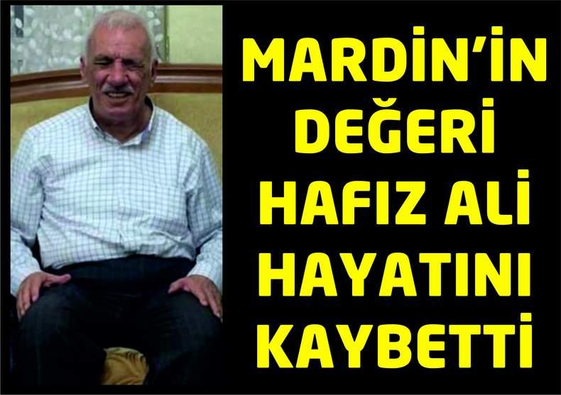 Hafız Ali Mardinlileri hüzne boğdu