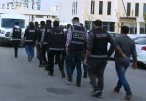 """Mardin merkezli 4 ilde """"joker"""" operasyonu: 10 gözaltı"""