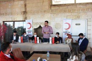 Genç Kızılay Çalıştayı Mardin'de Gerçekleştirdi